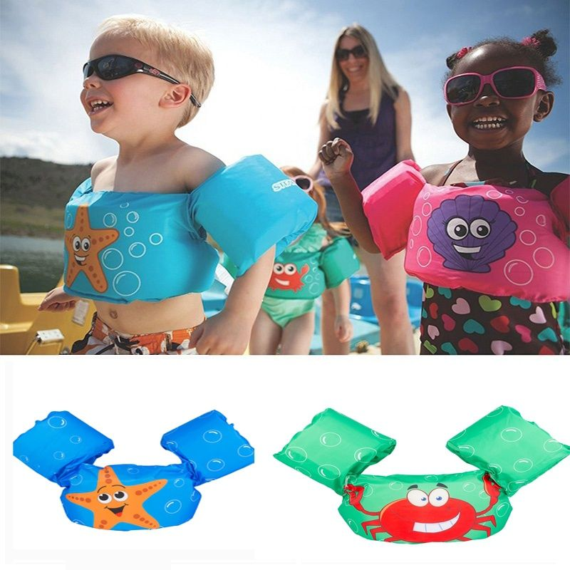 Children Kids Cute Puddle Jumper Deluxe Life Jacket Swim
