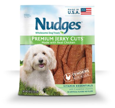 Introducing Nudges Safe All American Chicken Jerky Treats For Dogs