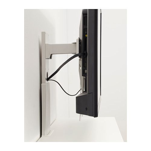 Porta Tv Girevole Ikea.Uppleva Bracket For Tv Swivel Light Grey Diy In 2019