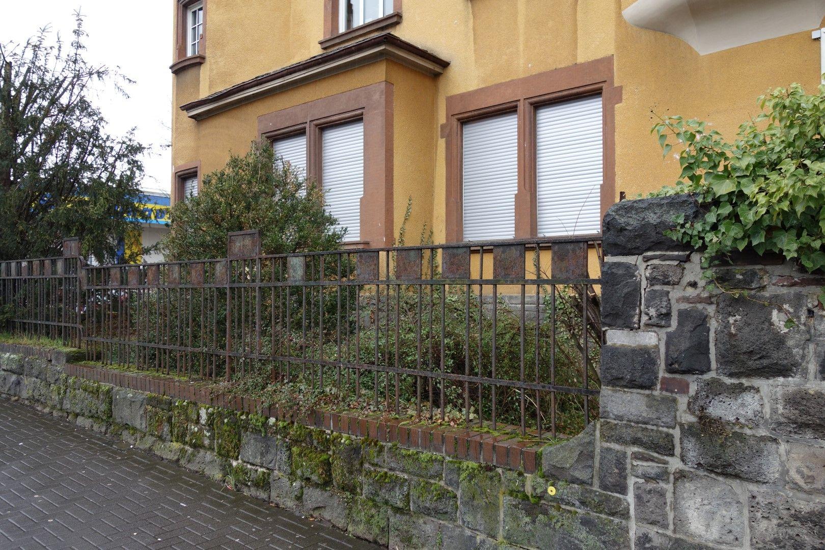 Historischer Art Deco Zaun in Giessen
