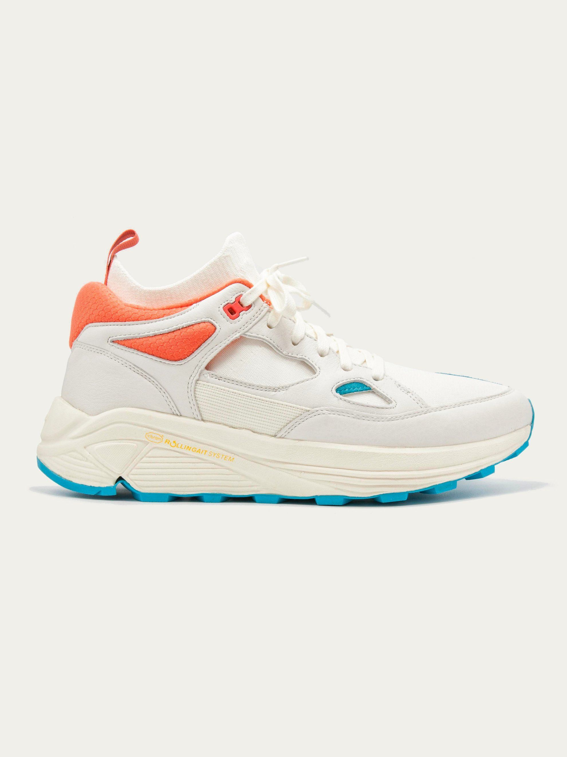 separation shoes f3bdb 0ee7b promo code b0426 ee4ab BRANDBLACK - Aura WhiteAqua Sneakers - 200.00