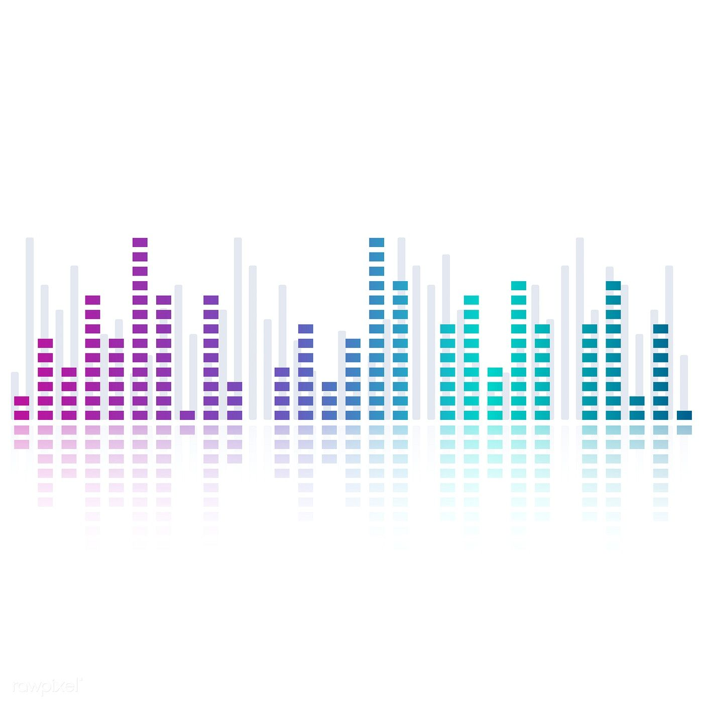 Sound wave equalizer vector design | free image by rawpixel