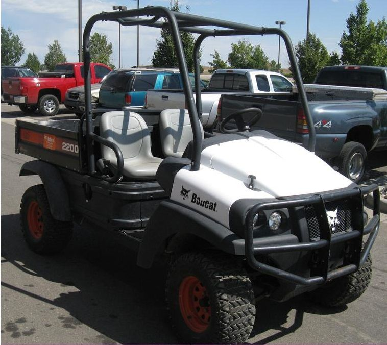 click on image to download bobcat 2200 utility vehicle service rh pinterest com Bobcat Model 2200 Bobcat 2200 UTV Parts