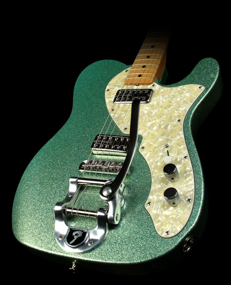 Fender Telecaster Seafoam Green - with bigsby & a sexy coating!