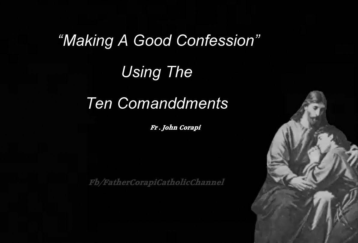 how to make a good confession catholic