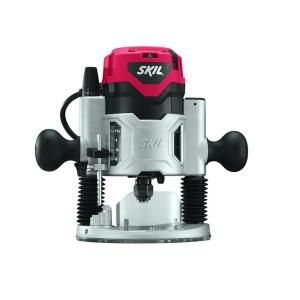 Skil 10 Amp 2 Hp Corded Plunge Base Router 1827 The Home Depot Plunge Router Router Skil