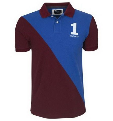 cheap polo ralph lauren shirts Hackett London Polo Shirt Dark Red / Blue  http:/