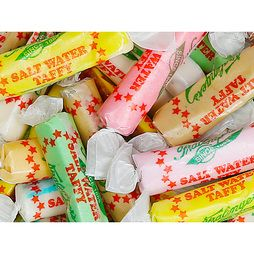 Fralinger's Salt Water Taffy: 5LB Bag