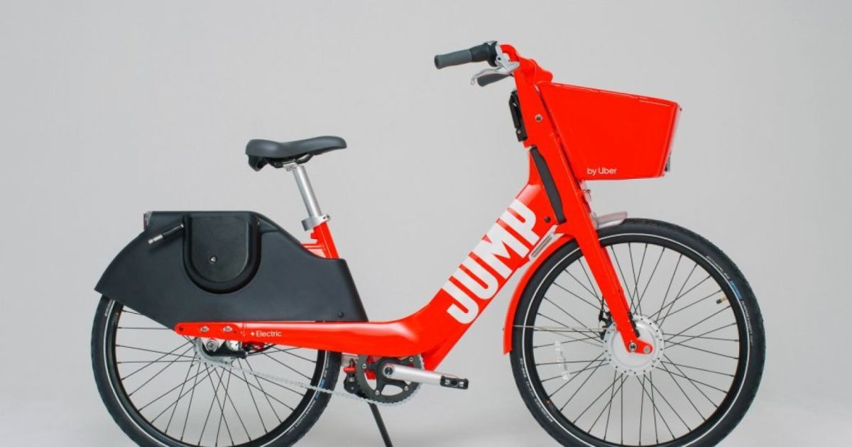 Uber S New Jump E Bikes Have Swappable Batteries The New Bikes