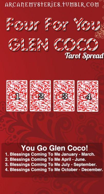 YOU GO, GLENN COCO. Tarot Tips. http://arcanemysteries.tumblr.com/