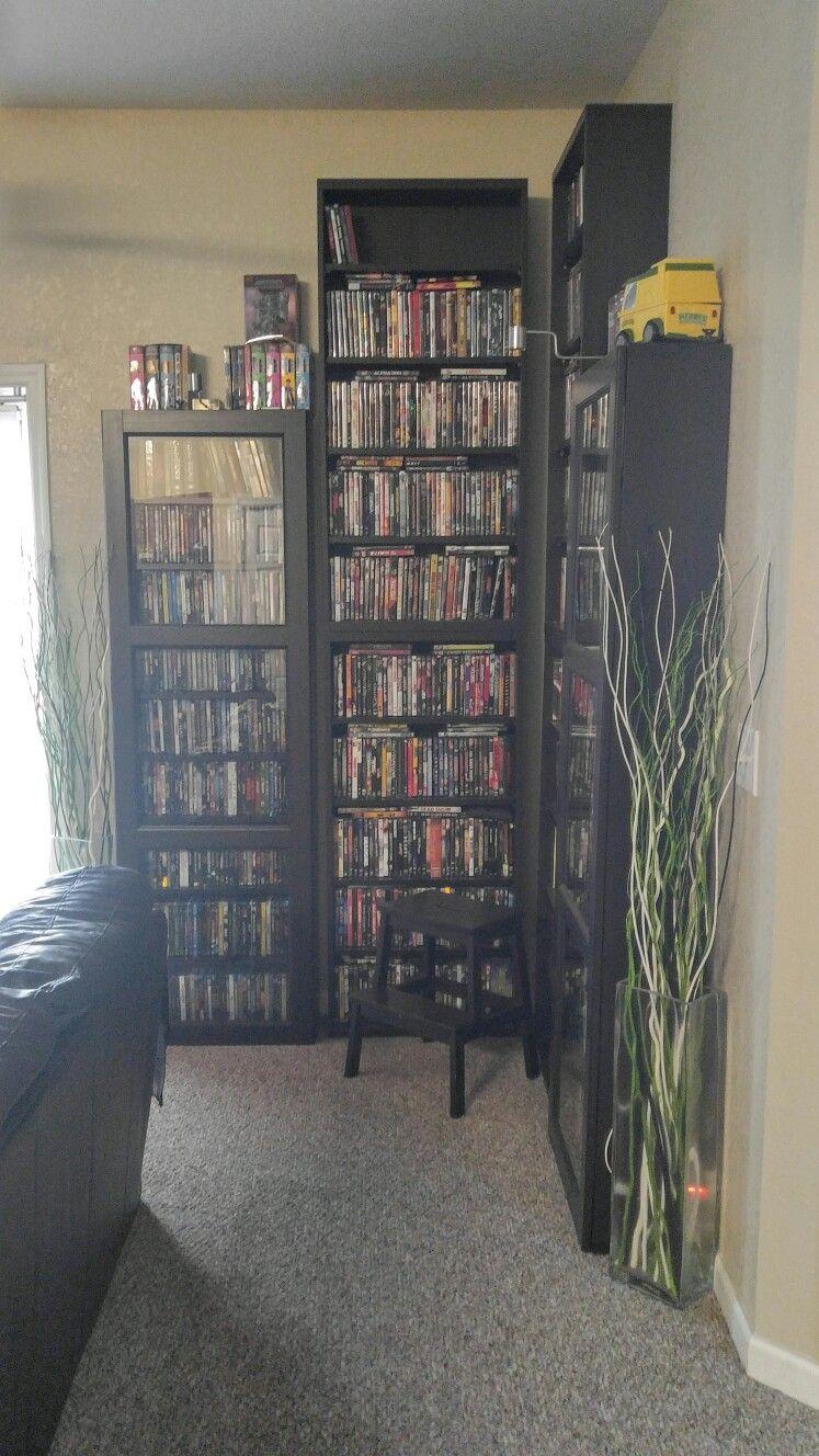 Ikea Besta Dvd Shelf Units My Home Decor Diy Dvd Storage Home