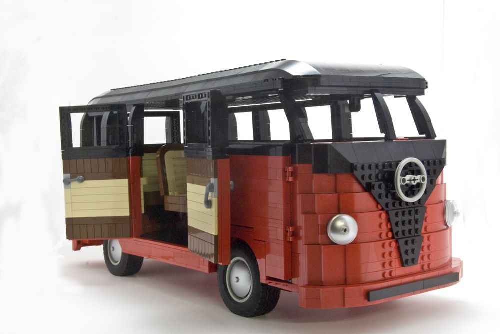 lego vw samba bus lego technic pinterest k belwagen volkswagen und basteln. Black Bedroom Furniture Sets. Home Design Ideas