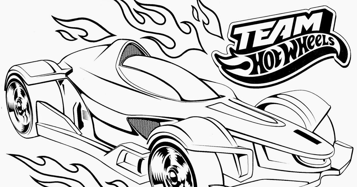 Here Is A Collection Of Hot Wheels Coloring Pages For The Kids Parties Or Whatever Also Make Sur Cars Coloring Pages Race Car Coloring Pages Coloring Pages