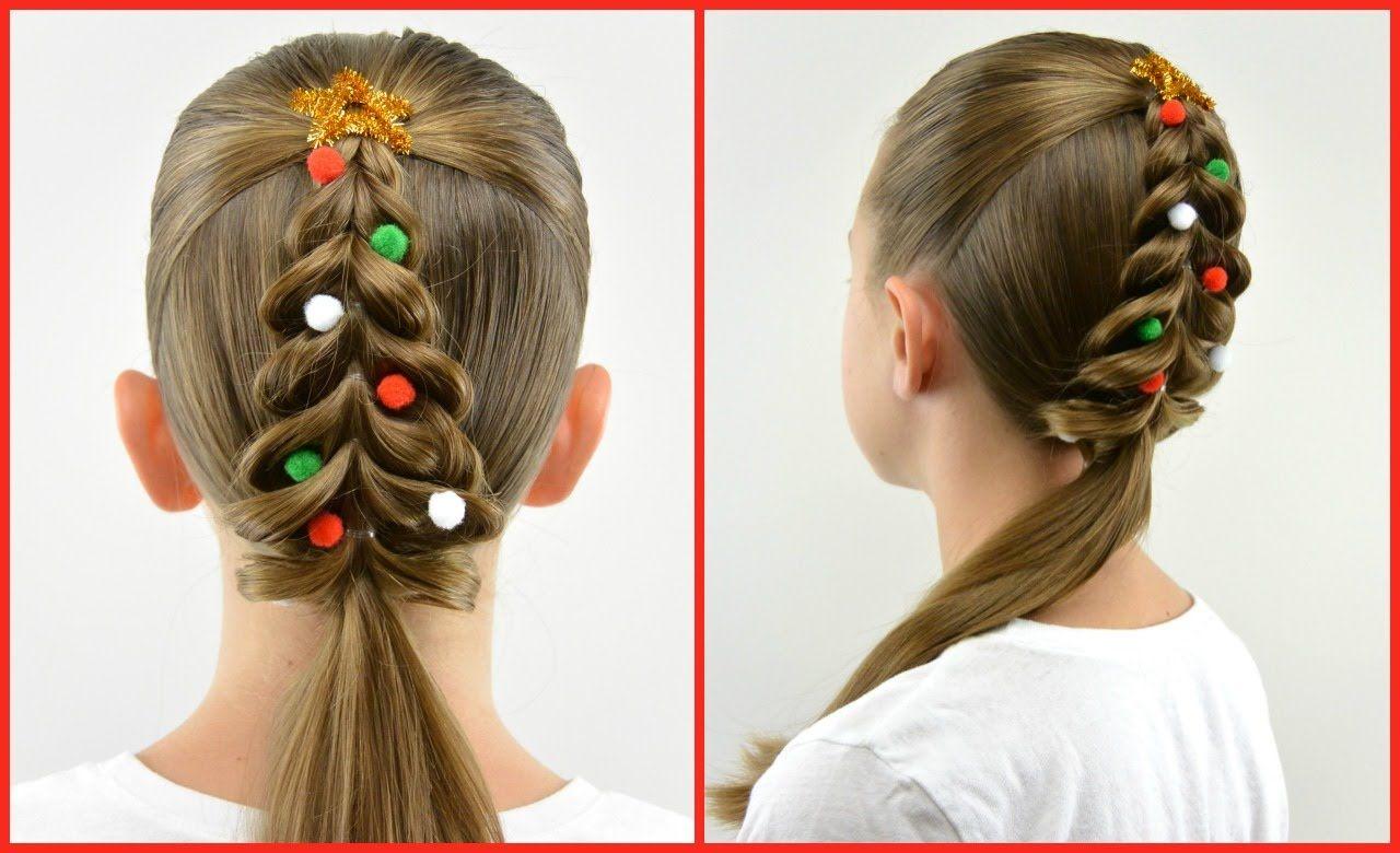 Christmas Tree Pull Through Braid Christmas Hair Babesinhairland Com Christmas Hairstyles Hair Styles Holiday Hairstyles