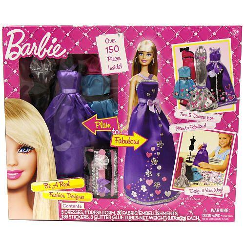 Barbie Be A Real Fashion Designer Barbie Fashion Design Crafts For Girls