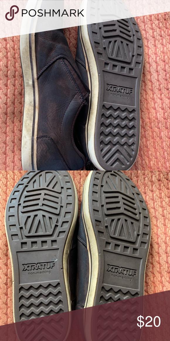 Men's XTRATUF Sharkbyte leather slip