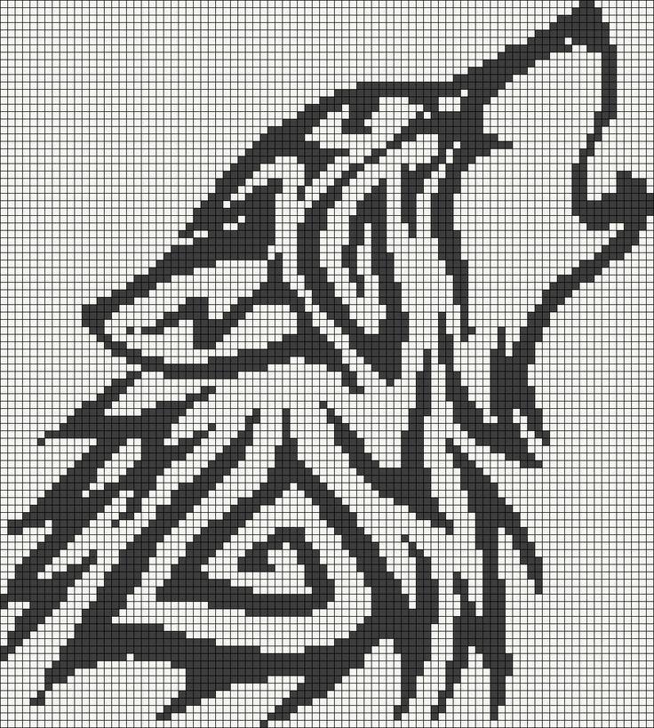 pixel art loup
