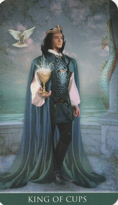 King of Cups - Thelema Tarot
