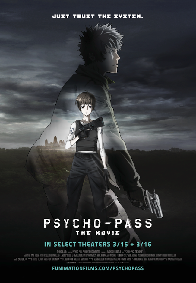 Psycho Pass Movie Poster Psycho Pass Psycho Pass The Movie
