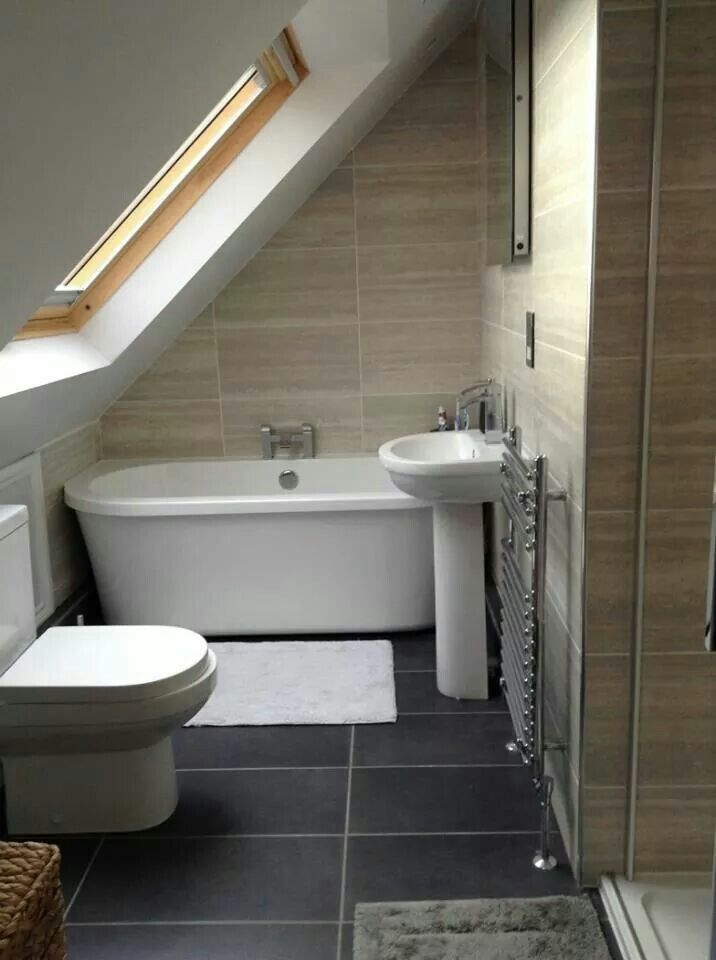 Victoria Plumb Loft Bathroom Small Attic Bathroom Bathroom Layout