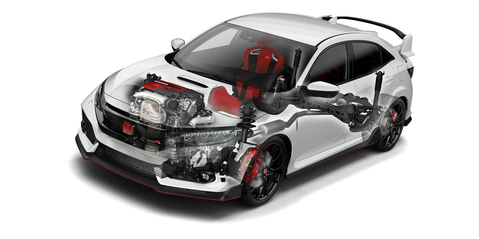 How Honda Modified the Civic Type R's Engine for the New