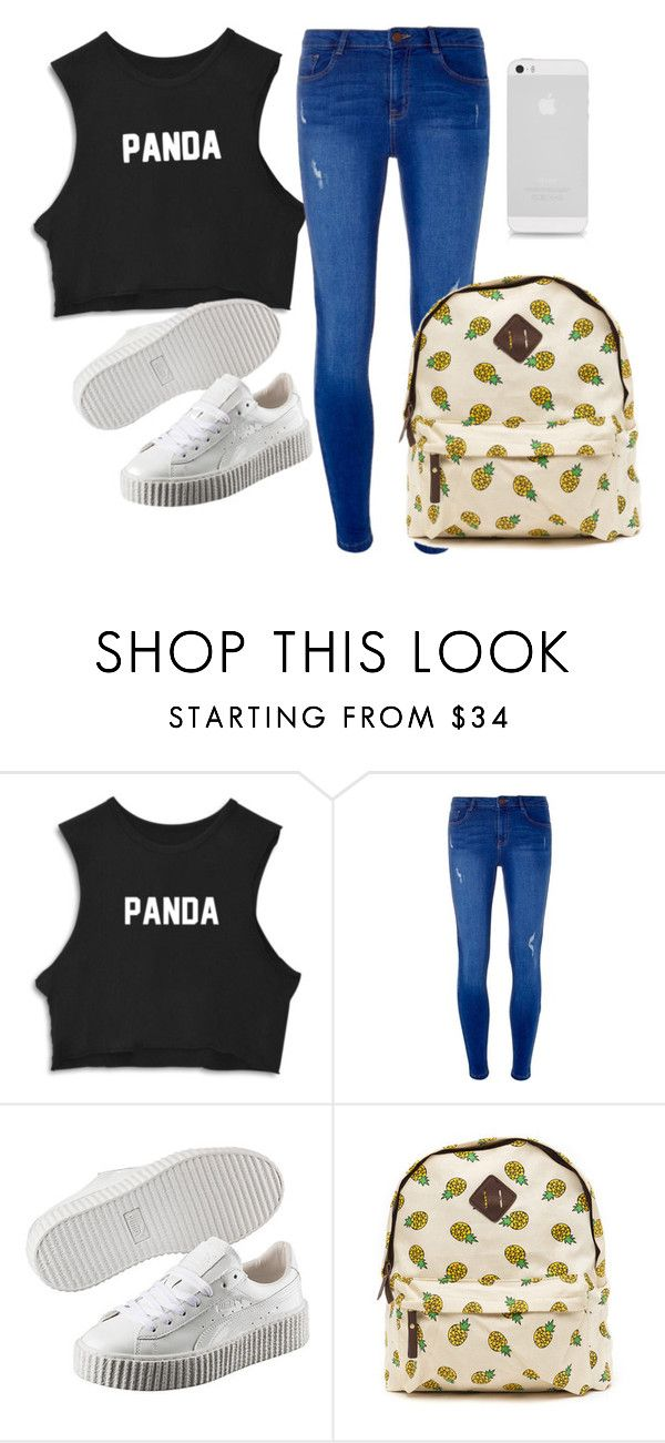 """SEM TÍTULO #99"" by luhpayne-948 on Polyvore featuring Dorothy Perkins and Puma"