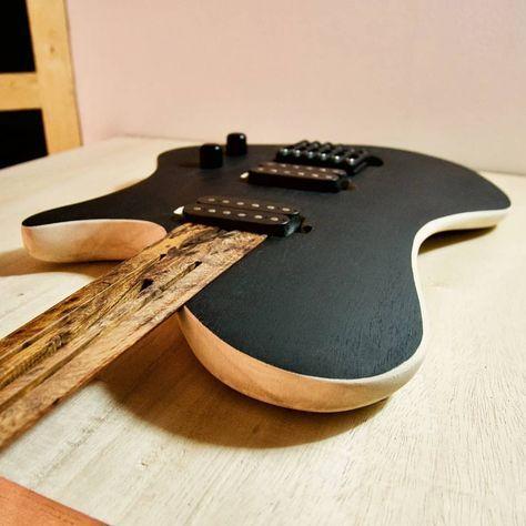 Instagram post by Minima Guitars • Apr 19, 2018 at 2:02am UTC #customguitars
