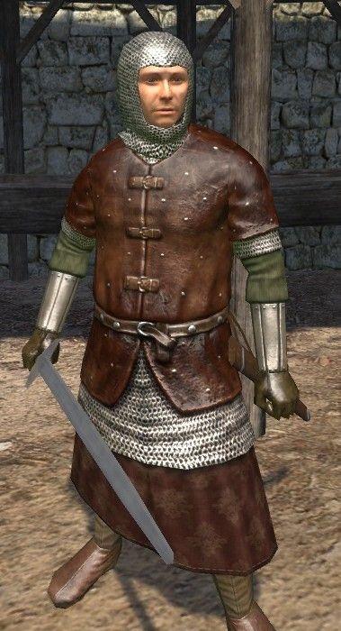 Brigandine Armour Mount And Blade Warband Samurai Gear Mount