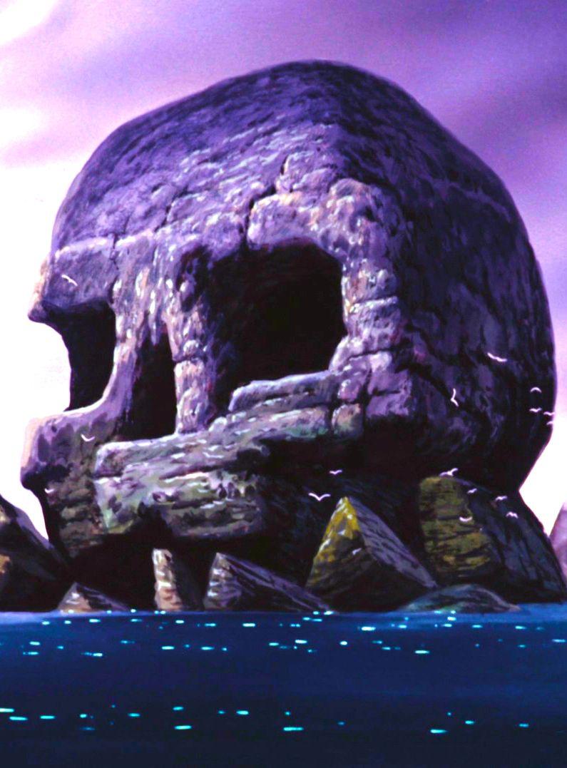 Skull Rock On The Island Neverland Peter Pan Peter Pan Jr