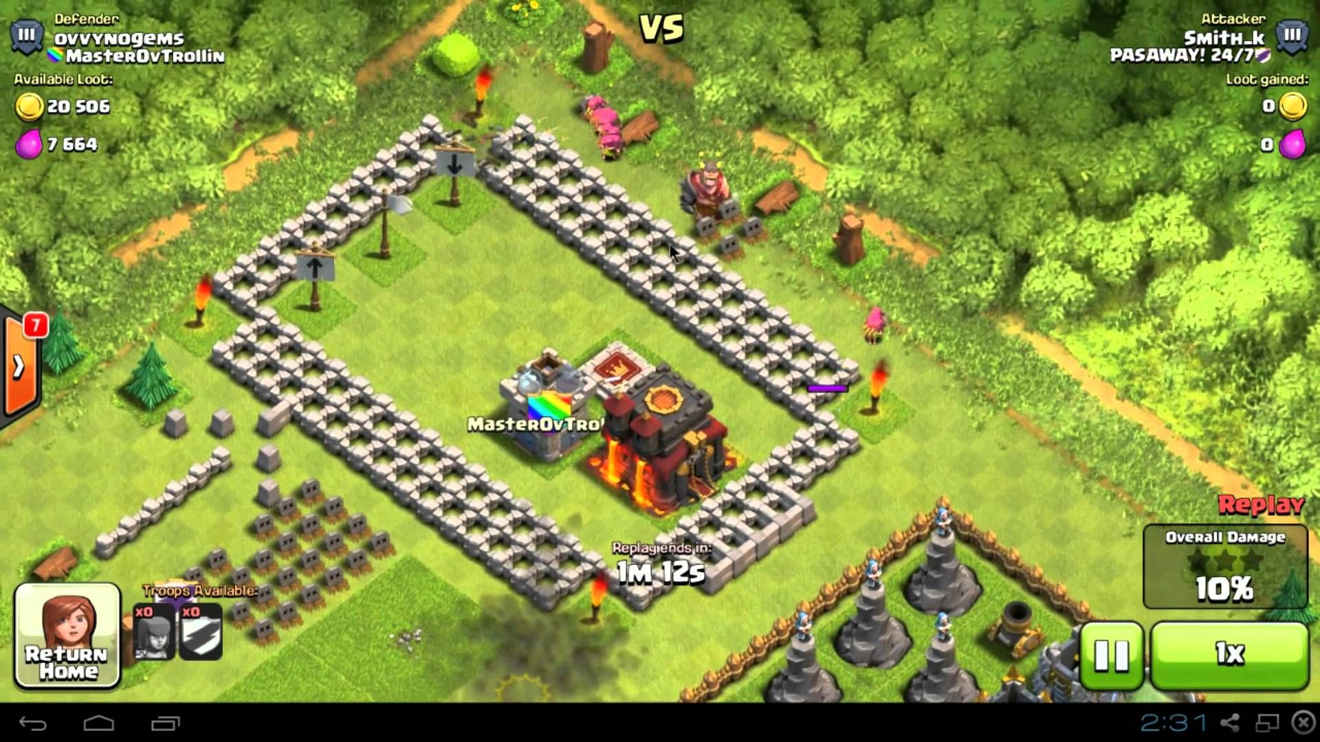 clash of clans attack strategy low level