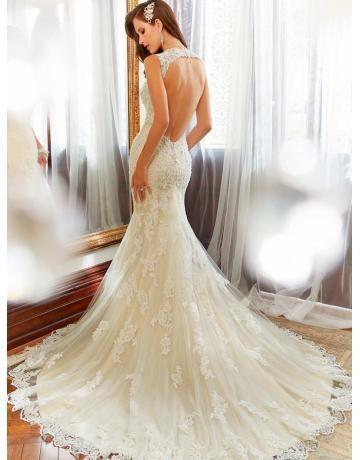 Günstige elegante Brautkleider & Brautmoden und sexy Abendkleider ...
