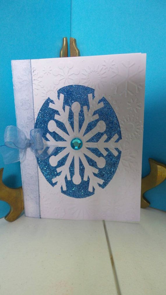 Check out this item in my Etsy shop https://www.etsy.com/listing/209714987/christmas-card-set-of-6-snowflake-and