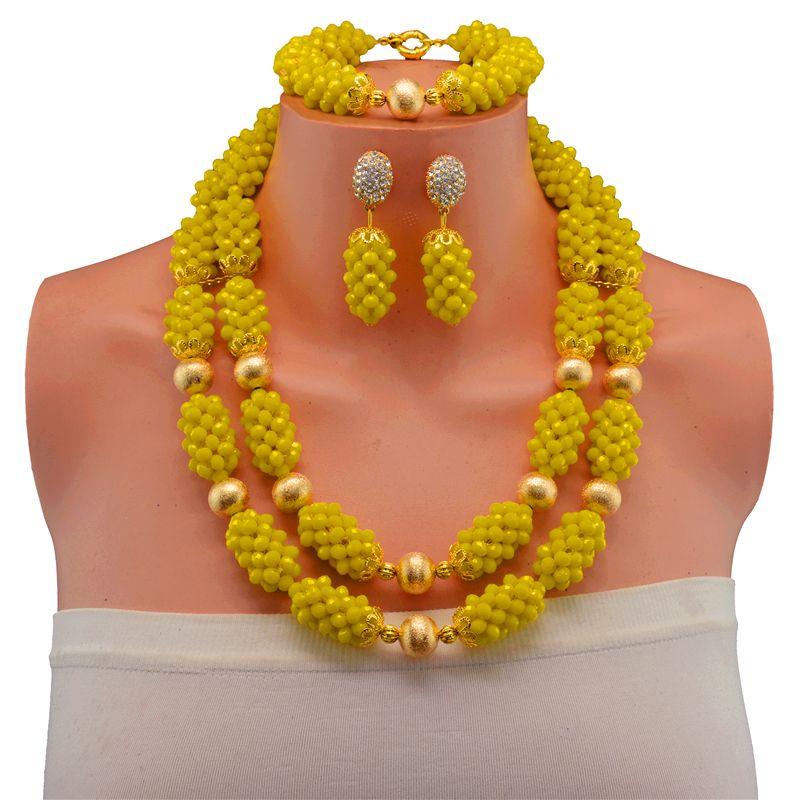 African Beads Jewelry Set Nigerian Wedding Bride African Beads ...