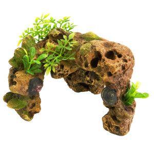 Top Fin Stone Arch Shell Aquarium Ornament Ornaments Petsmart