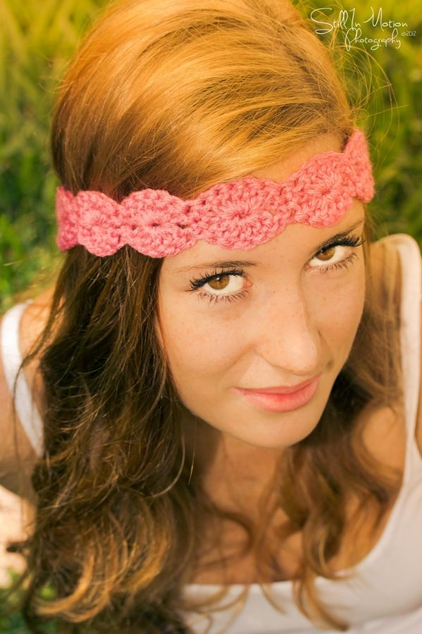 crochet beautiful headbands for your with beautiful crocheted halo headbands 10 colors at