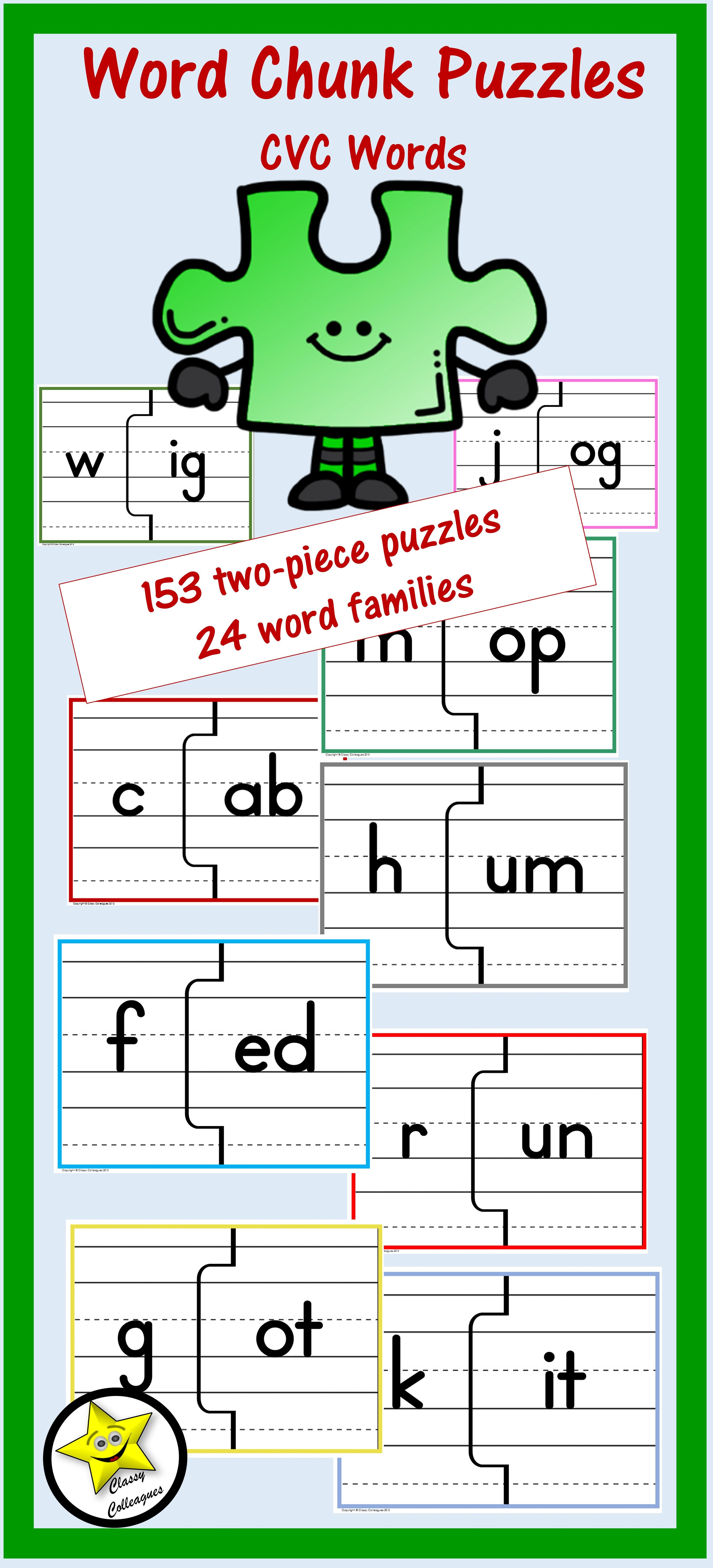 Word Chunk Puzzles