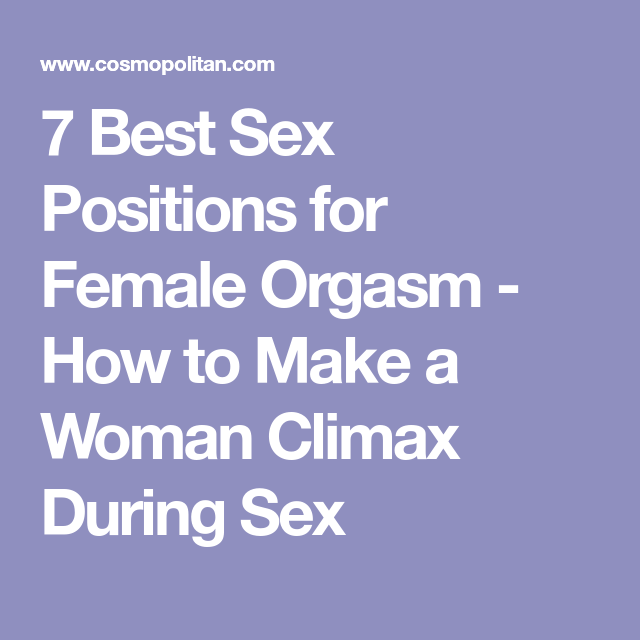 Main Sex Positions
