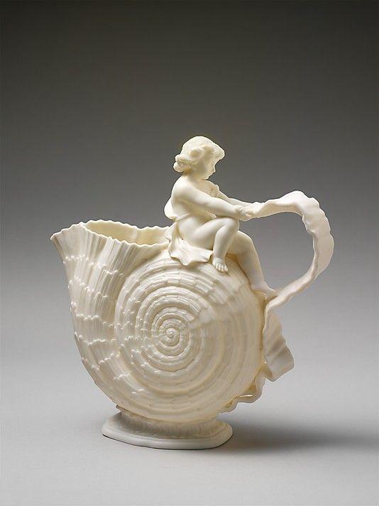 Willets Manufacturing Company 1879 1908 Designer Desig Pottery Jugs Porcelain Ceramics Antique Pitcher