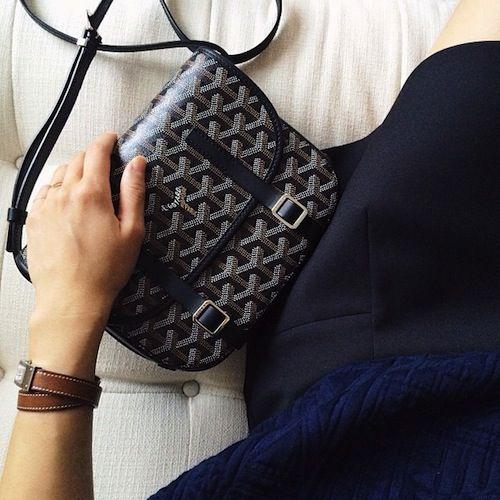 Interview With Alice Gao Goyard Bag Goyard Messenger Bag Crossbody Bag Outfit
