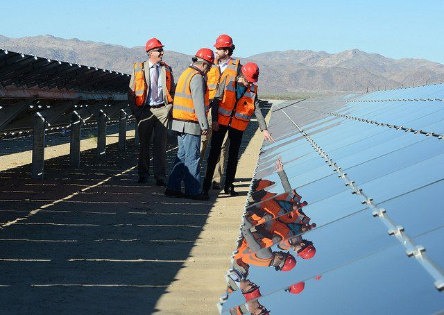 Another Giant Solar Power Plant Goes Online And The Doe Says Told You So History Of Solar Energy Solar Power Plant Solar