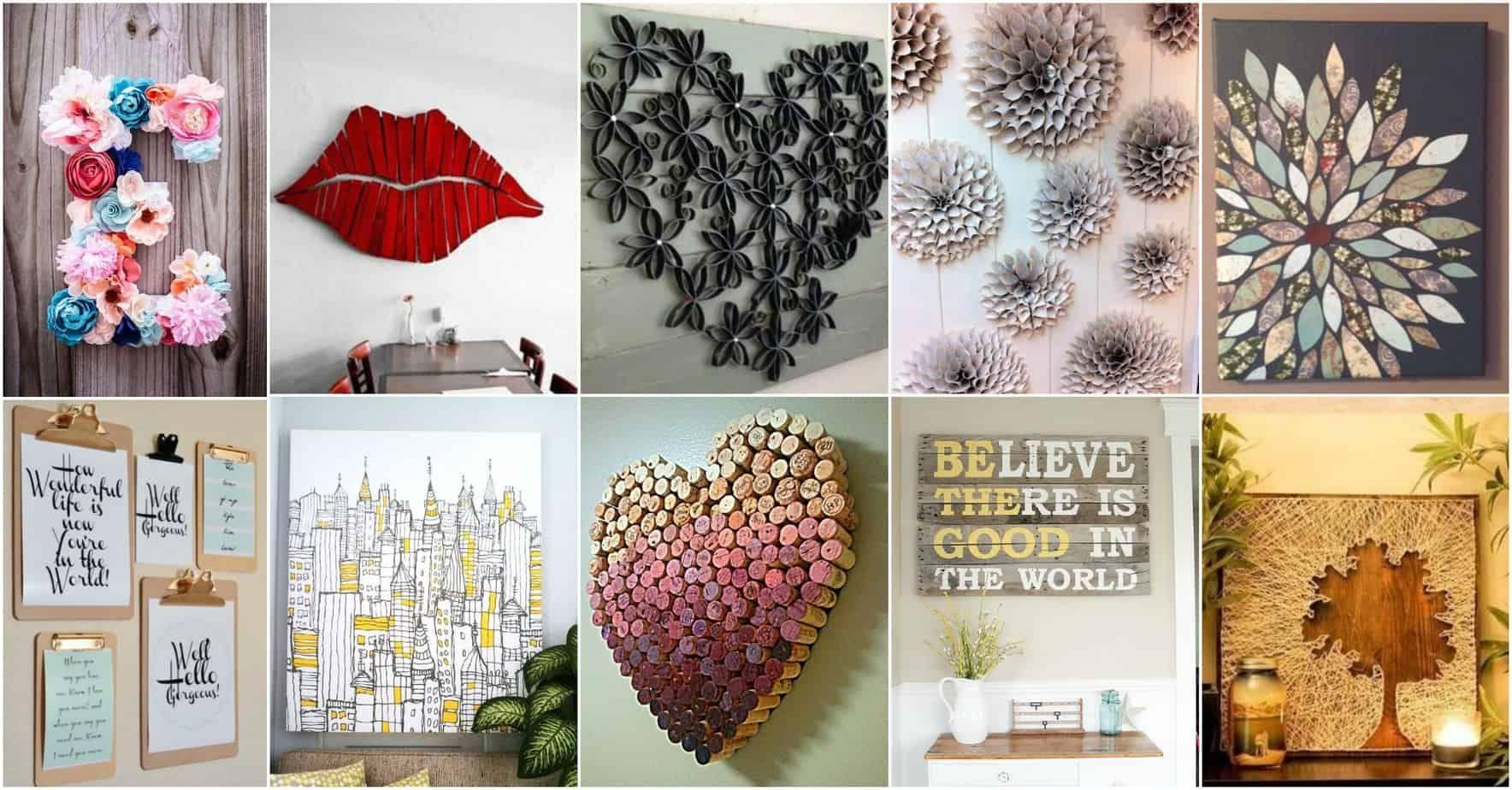 More Amazing DIY Wall Art Ideas #diy #decor #diy #deko #diy