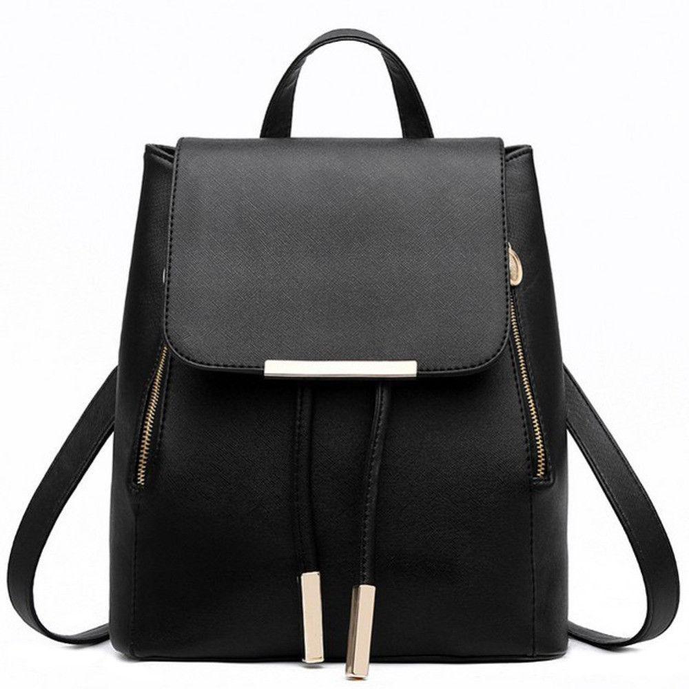 Fashion Design Women Backpacks PU Leather School Rucksack for Teenage Girls  Female Travel Shoulder Bag Bolsa Mochila Feminina  backpack  fashion  bag  ... b0c359d3cfe60