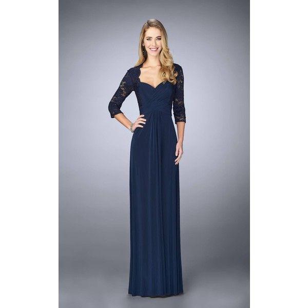 La Femme 23139 Formal Gown Long V Neck Mid Length 438 Liked On