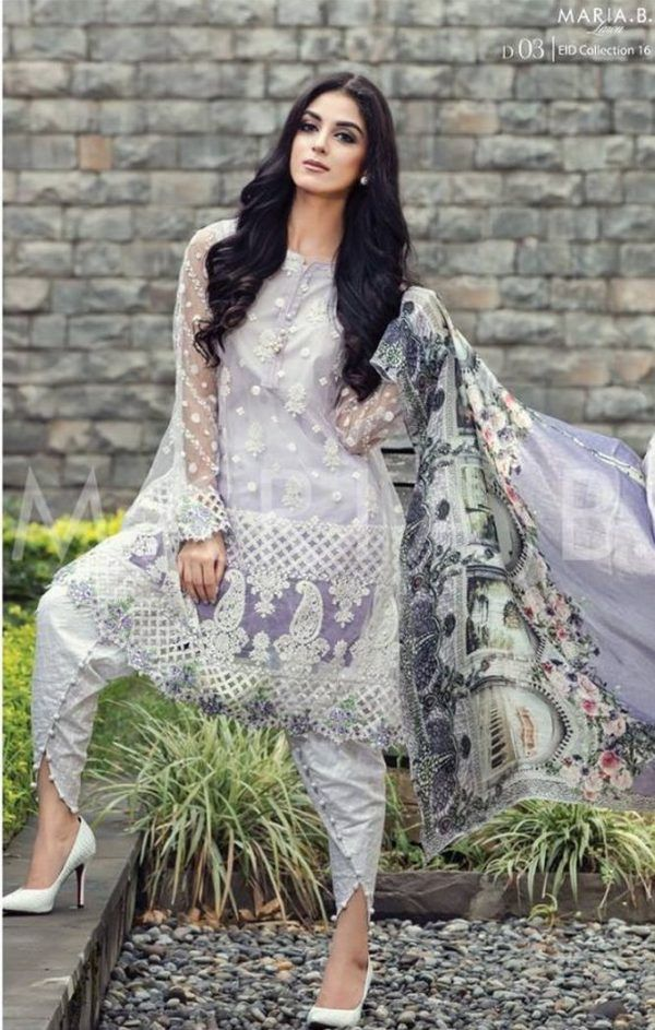 90fbfa214b Maria B EID Lawn Collection 2016 Catalogue-6 | Pakistani Clothes ...