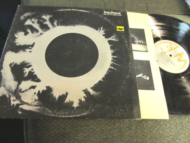 Bauhaus The Sky's Gone Out LP Musica, Bandas