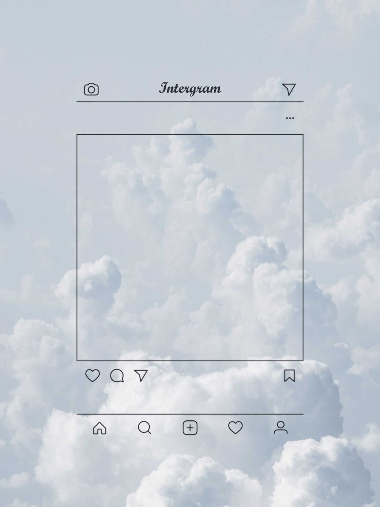 List of New Cloud Wallpaper for Smartphones This Month