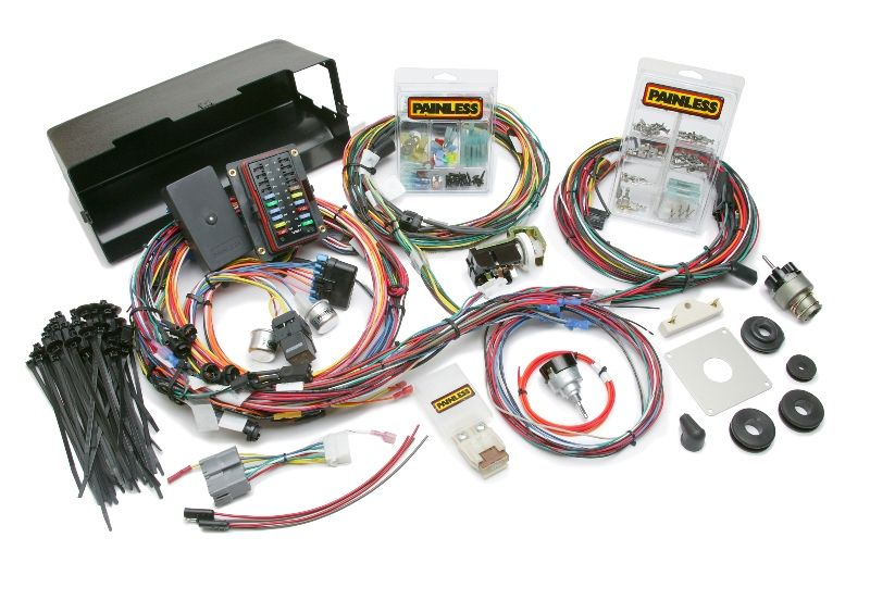 1966 1977 Ford Bronco Chassis Harness With Switches By Painless Performance Bronco Performance Racing Weatherproofing