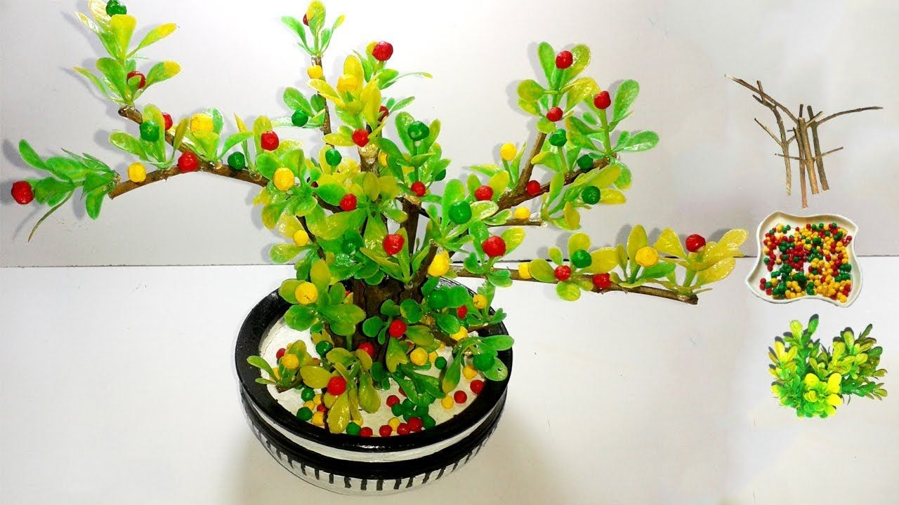 How To Make Artificial Bonsai Tree Artificial Bonsai Tree Crafts Artificial Bonsai Tree Crafts Diy Tree Crafts Bonsai Tree Crafts