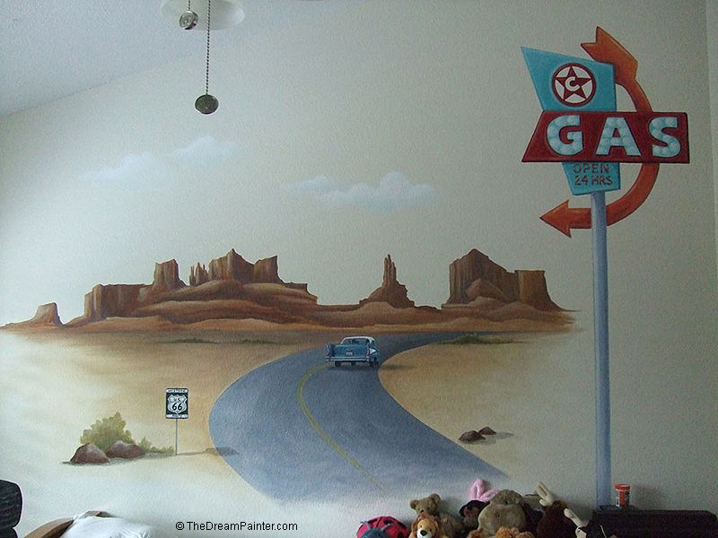 route-66_mural_gas-signs_old_car_simi-valley_boy-s_bedroom.jpg (800×600)