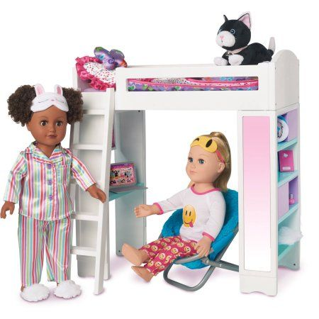 My Life As Loft Bed Walmart Com American Girl Doll Furniture My Life Doll Clothes Baby Doll Accessories